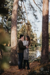 VanDusen Botanical Garden - Fall Engagement