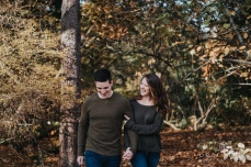 VanDusen Botanical Garden - Fall Engagement